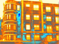 Stucco Finish System surveys - thermal imaging